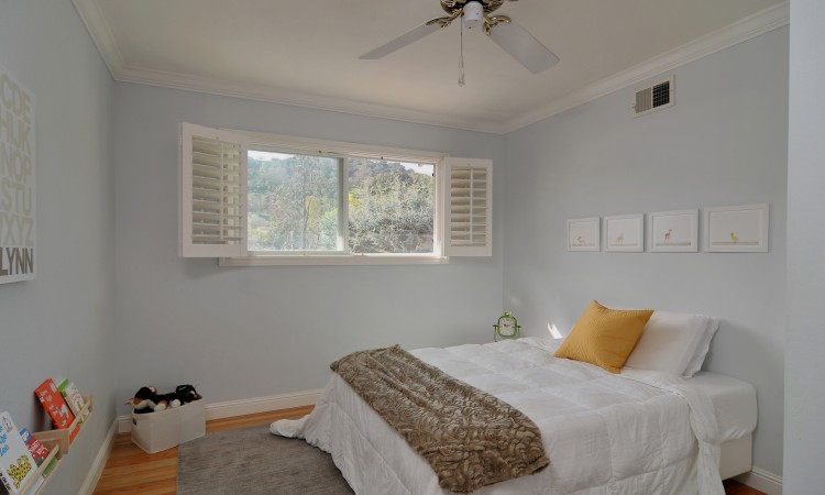 022 Bedroom 5 750x450 - Exquisite, expansive, remodeled Belwood home - 127 Belhaven Drive, Los Gatos