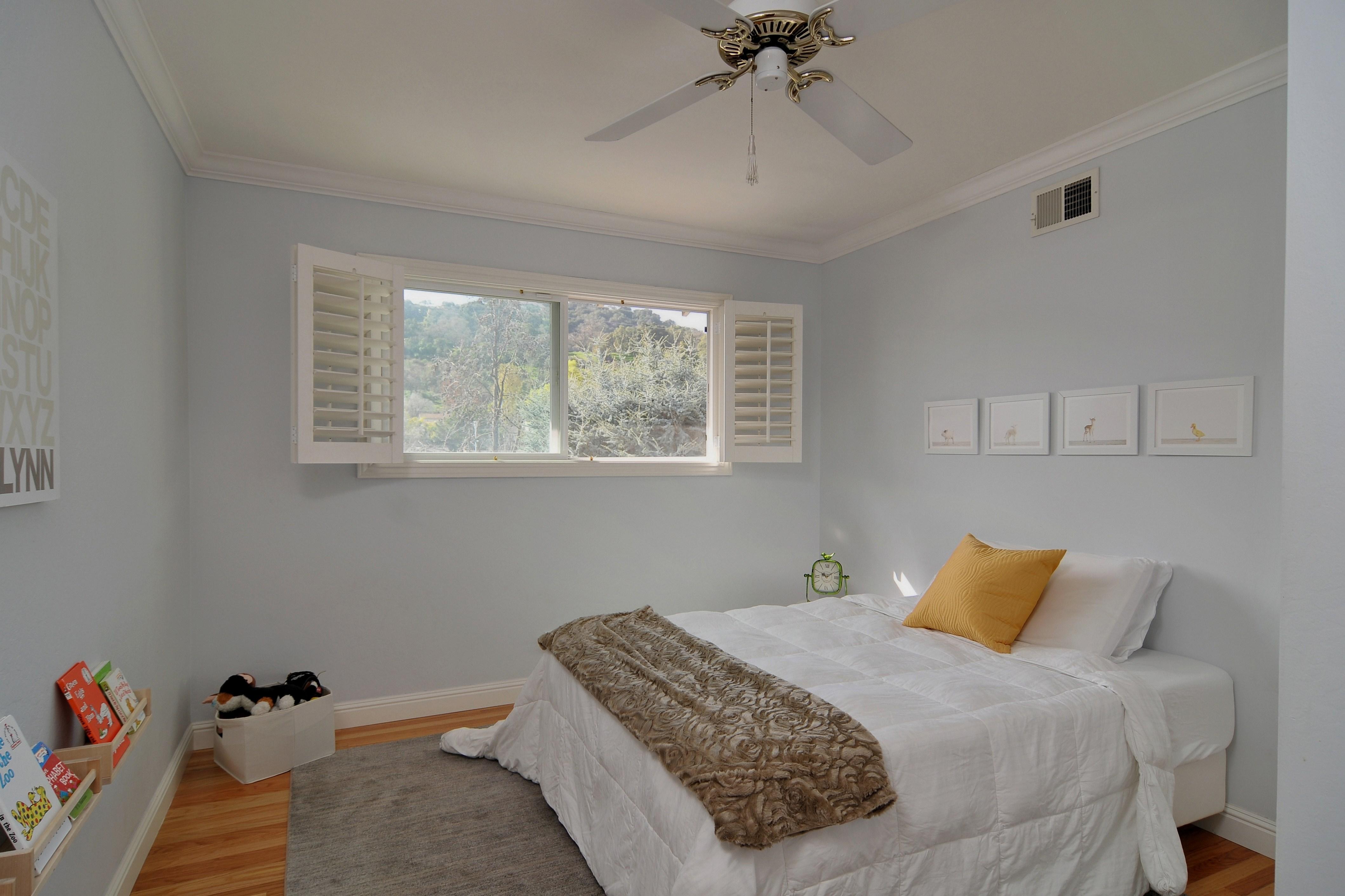 022 Bedroom 5 - Exquisite, expansive, remodeled Belwood home - 127 Belhaven Drive, Los Gatos