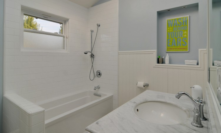 023 Hall Bathroom 750x450 - Exquisite, expansive, remodeled Belwood home - 127 Belhaven Drive, Los Gatos