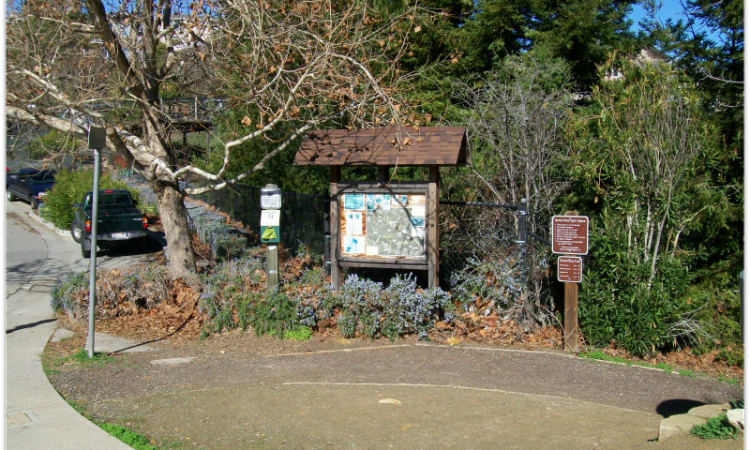 Santa Rosa trail head