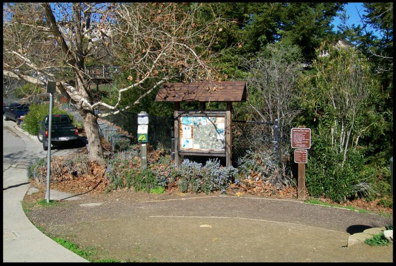 Santa Rosa trail head