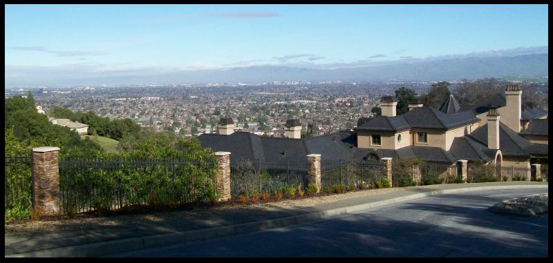 Santa Rosa Drive - Santa Clara Valley view