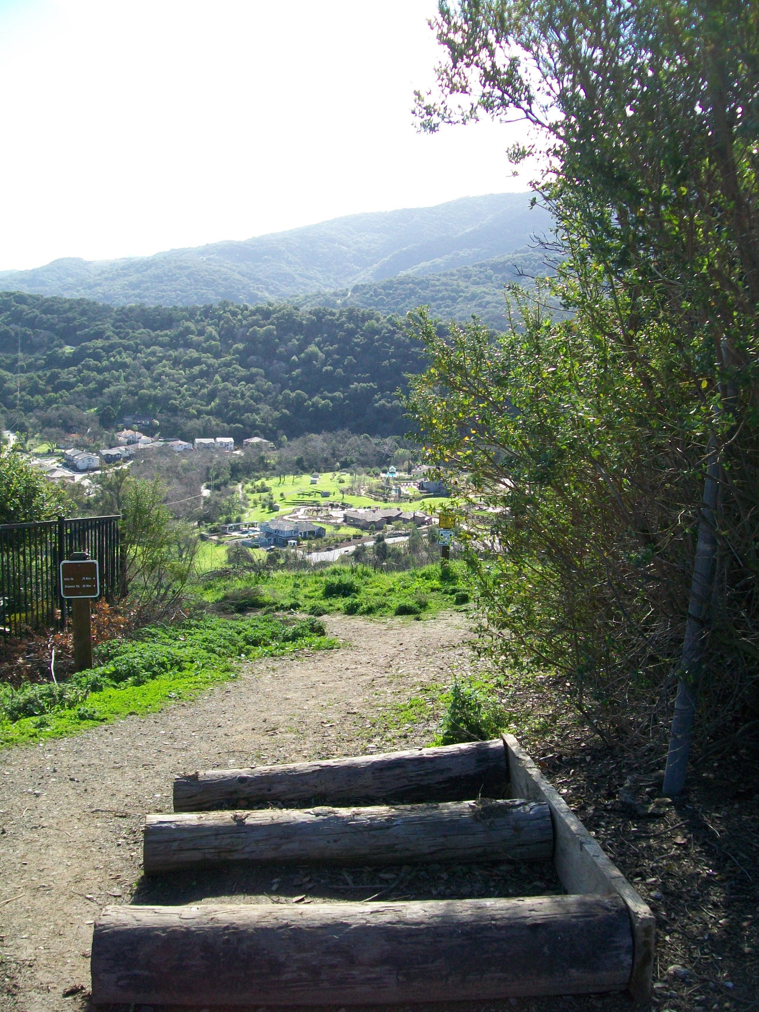 Santa Rosa view to Shannon Valley Ranch - Santa Rosa Drive and Sierra Azule neighborhood