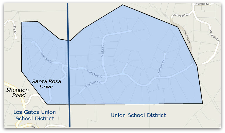 Santa Rosa and Sierra Azule neighborhoods