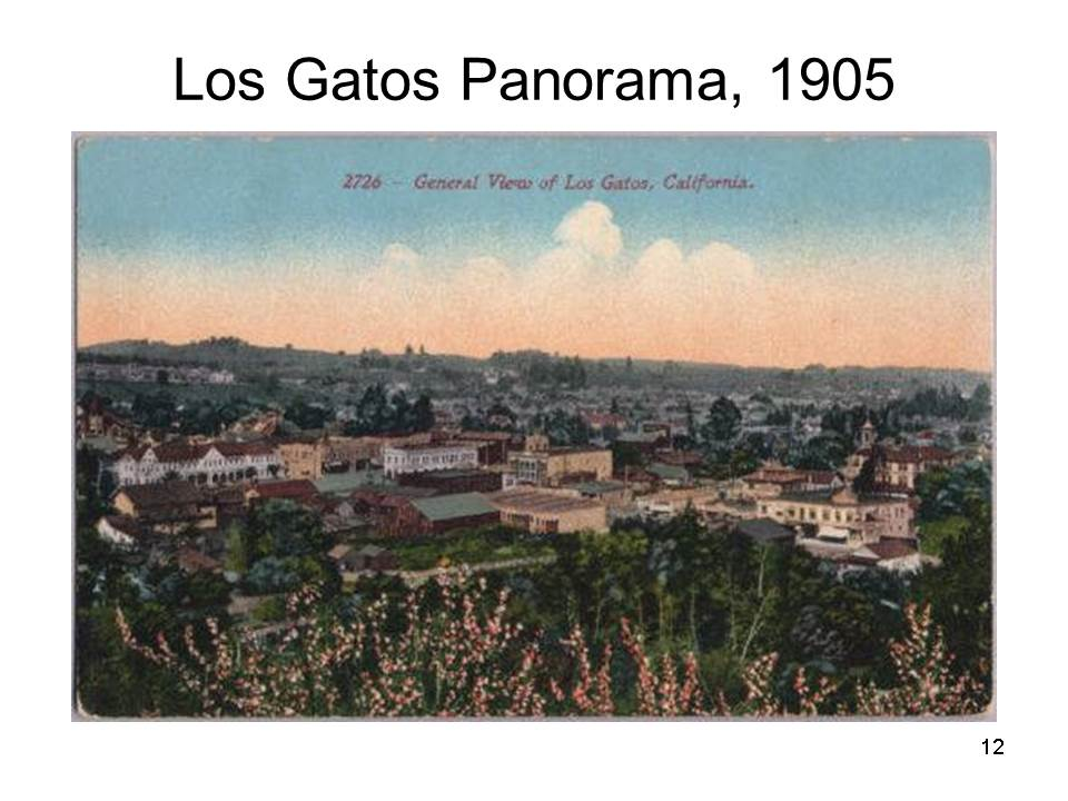 Slide12 - Saratoga and Los Gatos prune orchards - a piece of living history