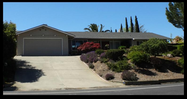 Twin Creeks neighborhood ranch style house