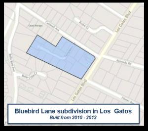 Bluebird Lane neighborhood of LG
