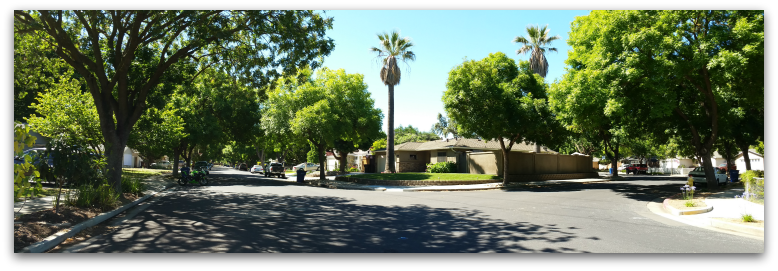 Garden Hill - Arroyo Grande neighborhood street pan