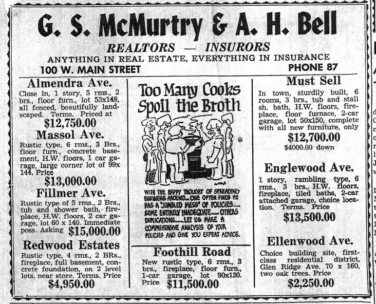 Los Gatos real estate ad date not shown