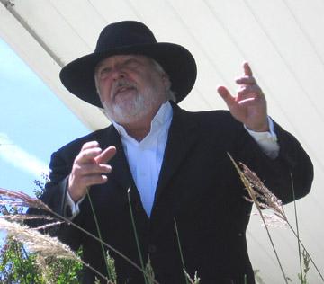 Michael Kane as Mountain Charlie 2007 Historic Walking Tour in Los Gatos