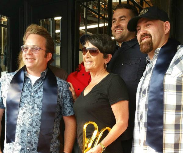 Loma Brewing Company ribbon has been cut