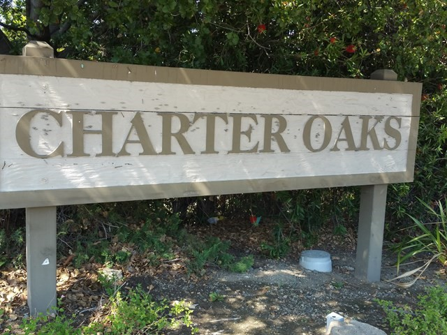025 Charter Oaks Sign Photo by Mary Pope Handy - 126 Charter Oaks Circle, Los Gatos