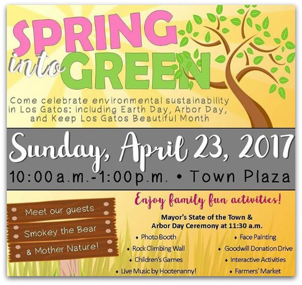2017 Los Gatos spring into green