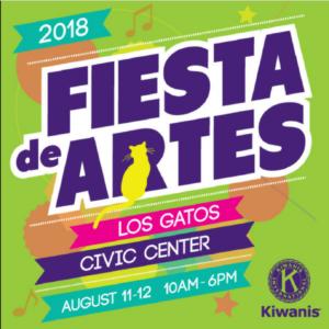 Los Gatos Fiesta de Artes 2018