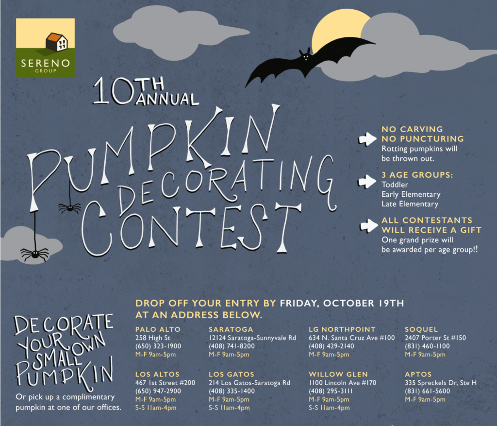 10th annual Sereno Group pumpkin decorating contest