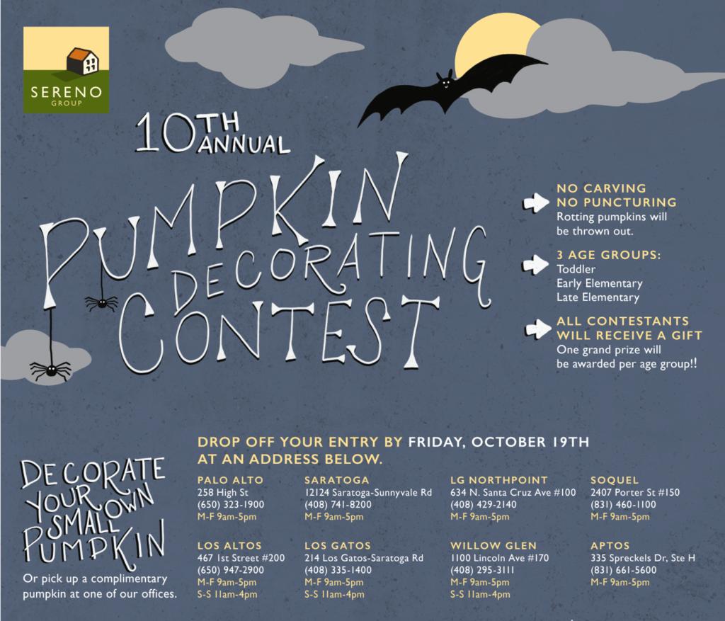 10th annual Sereno Group pumpkin decorating contest