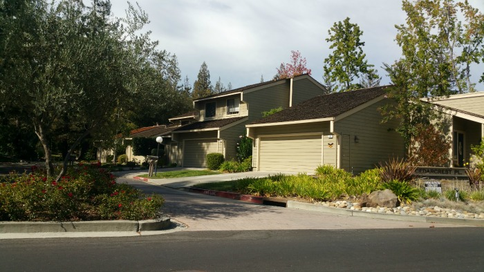 Courtside Los Gatos - townhomes green