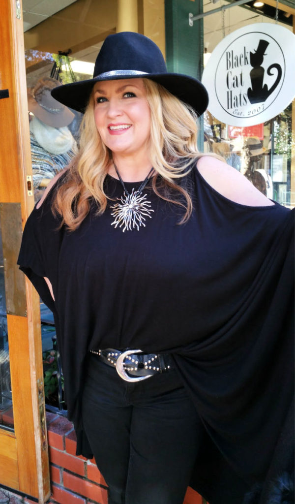 Aileen Larson of Black Cat Hats