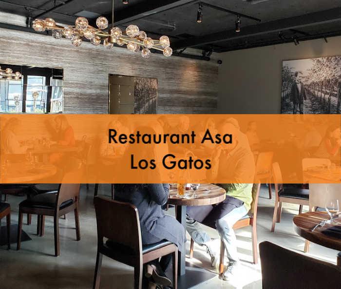 Restaurant Asa dining area