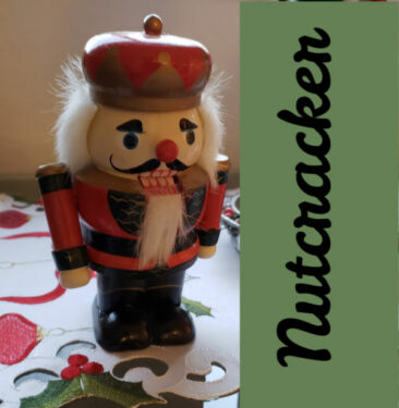 Los Gatos Ballet presents The Nutcracker this holiday season - image of a nutcracker with the word Nutcracker next to it