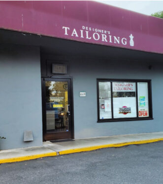 Designer's Tailoring - Los Gatos CA - storefront