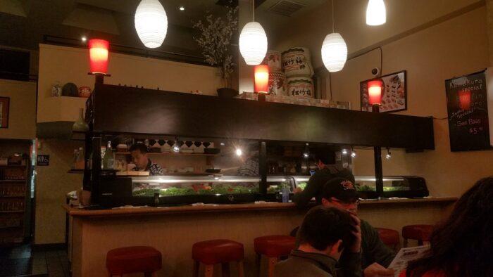 Kamakura Sushi and Saki in Los Gatos - evening