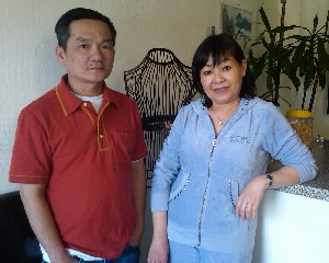 Tho and Thuan at Designer's Tailoring in Los Gatos (photo taken a few years ago)