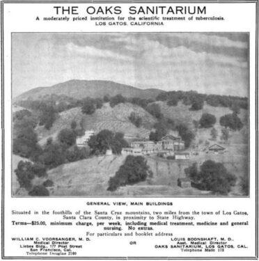 The Oaks Sanitarium Los Gatos, CA