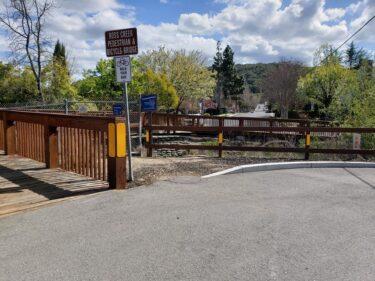 030_Ross Creek Trail Pedestrian and Bike Access Bridge