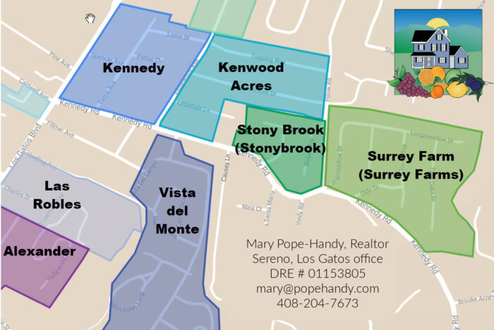 Los Gatos - Kenwood Acres, Stonybrook, Surrey Farms - Mary Pope-Handy