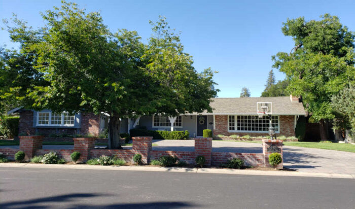 Ranch style house in the Stonybrook neighborhood in Los Gatos