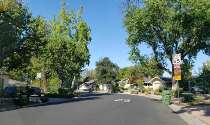 Stonybrook neighborhood entrance from Kennedy Road